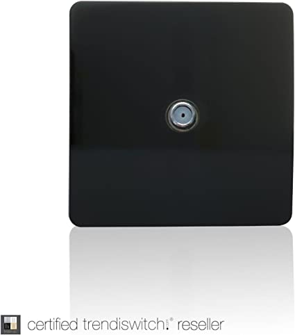 Trendi Switch Art-SATBK - Toma de Antena para televisor ...