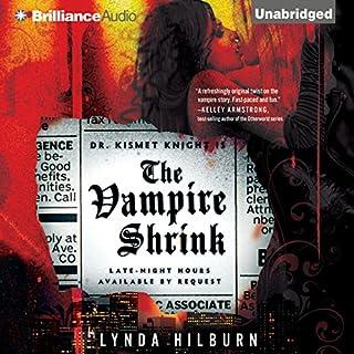 The Vampire Shrink audiobook cover art