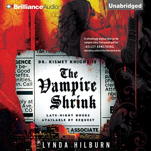 The Vampire Shrink audiobook cover art