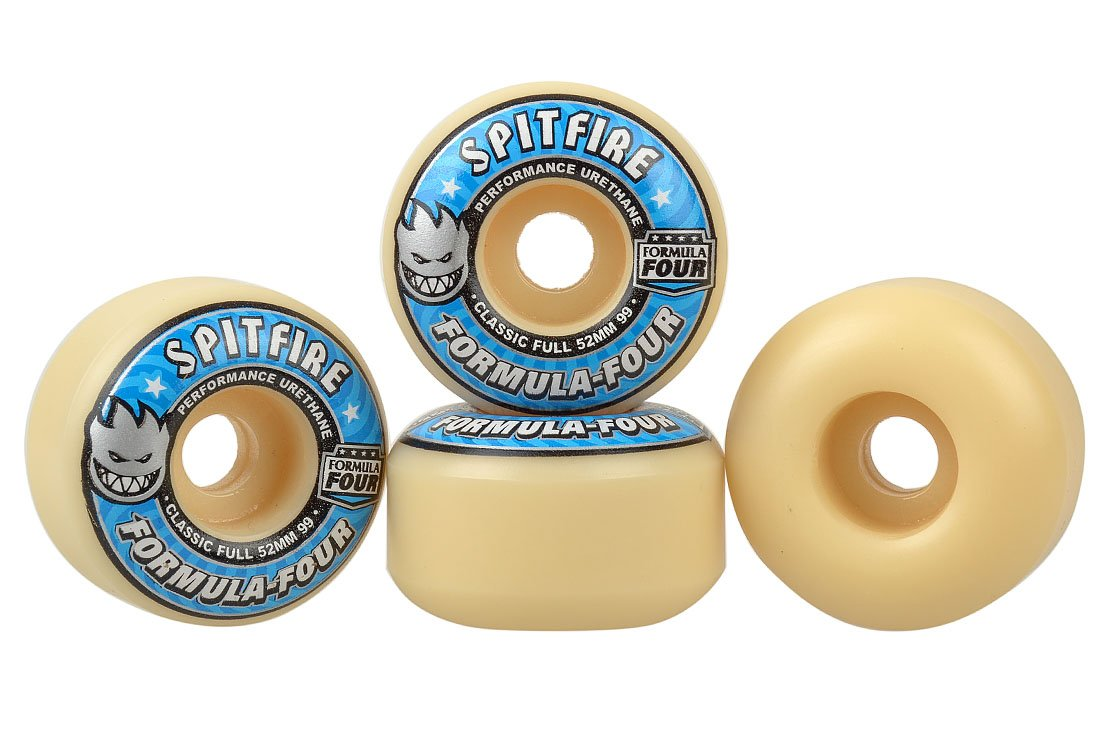 Spitfire Classic Full 52mm F4 99A Wheels: Amazon.co.uk: Sports & Outdoors