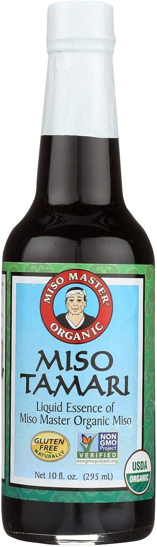 Miso Master Tamari - Organic 12 10 oz of case Dedication Super popular specialty store