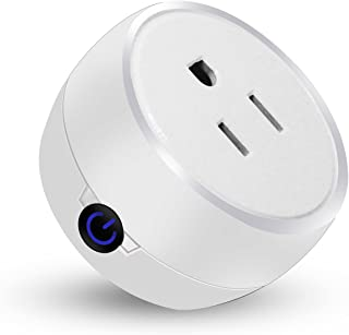 BearDot Mini Wifi Smart Plug, Compatible with Alexa and Google Home, Smart Home Devices that Connect with Alexa and Google Home, no hub required, App and voice control anywhere and anytime (XLC17006)