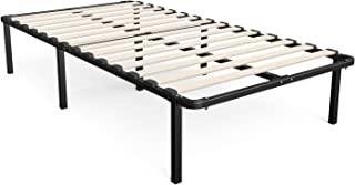 Zinus Cynthia 14 Inch MyEuro SmartBase / Wooden Slat / Mattress Foundation / Platform Bed Frame / Box Spring Replacement, Twin