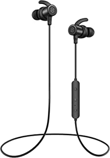 SoundPEATS Bluetooth Earphones, Wireless 5.0 Magnetic Earbuds, In-Ear IPX6 Sweatproof Headphones with Mic (13 Hours Playtime, APTX-HD, CVC Noise Cancellation, 10mm Drivers)Upgraded
