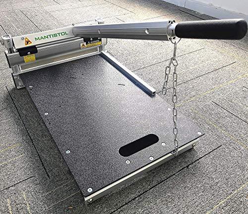 MantisTol 13'' Pro Flooring Cutter MC-330 with Installation Kit Gifts! For Laminate Floor, Siding, Rigid Core Vinyl Plank. Best Buying !