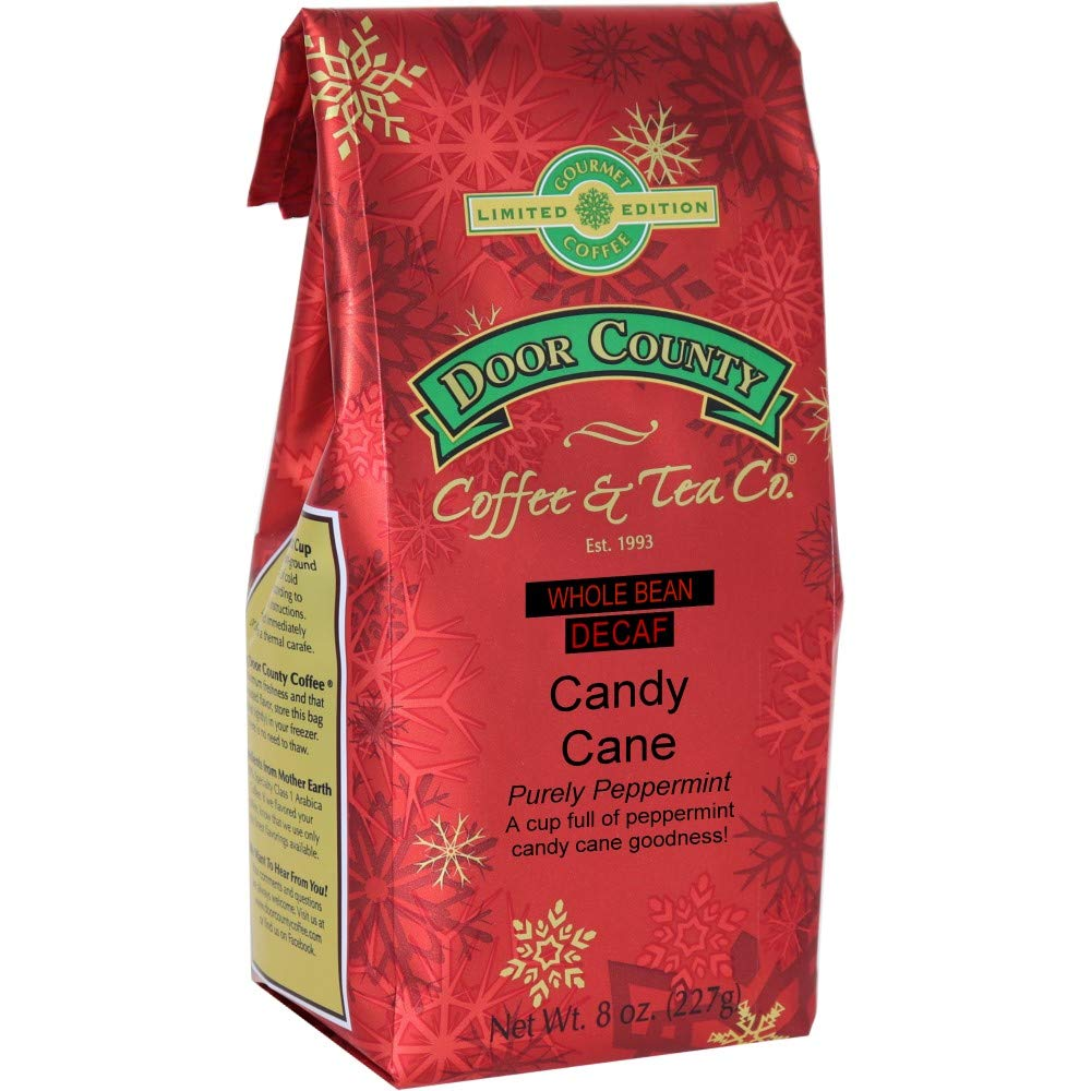 Door County Coffee Holiday Flavored Candy P Decaf In a popularity Dedication Cane