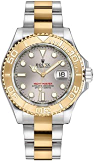 Yacht-Master 35 Solid 18k Gold and Stainless Steel Watch 168623