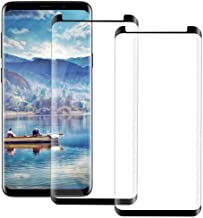 S9 Plus Screen Protector for Samsung Galaxy S9 Plus, [Anti-Scratch] [High Definition] [Bubble Free] [Anti-Fingerprint] S9 Plus Tempered Glass Screen Protector [2 Pack] 2