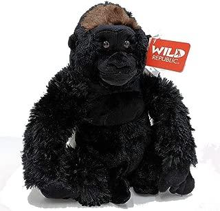 "Wild Republic Cuddlekins Plush Gorilla Silverback 12"""