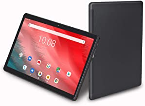 10 inch Tablet, Android 9.0, 32GB Storage, 8MP Rear Camera, Octa-Core Processor, 1920x1200 IPS HD Display, Wi-Fi, Support 4G Phone Call (Black)