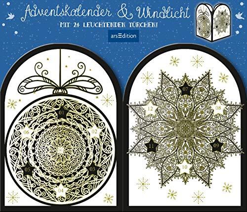 Adventskalender & Windlicht: