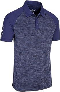 Stuburt Golf SBTS1079 Mens Evolve Milby Breathable Wicking Stretch Golf Polo Shirt Top