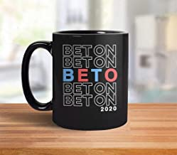 Bet On Beto 2020 Mug | Vote Beto ORourke Mug, Beto for President, Beto O'Rourke Coffee Mug, liberal mug, democrat coffee cup, political gift