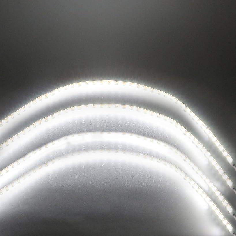 Grandview 4-Pack Super Bright White 90CM DC12V Flexible LED Strip Light Waterproof For Car Decoration Strip Light Interior Atmosphere Lamp Vehicle DRL Day Running - Party/Festival Light