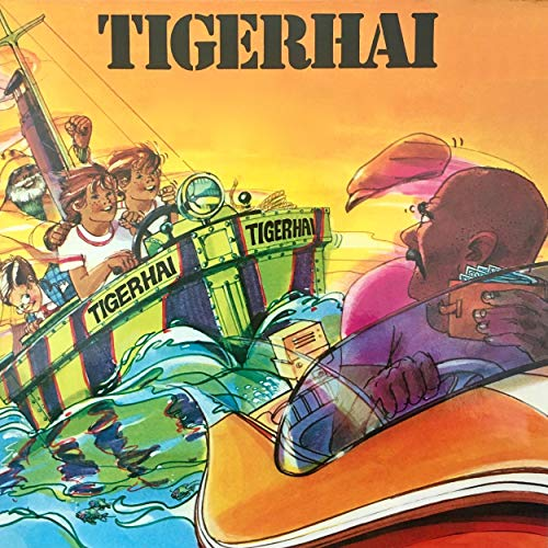 Tigerhai Audiobook By H. de Roos, Dieter Ehlers cover art
