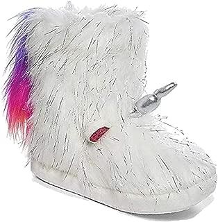 Justice Unicorn Rainbow Tail Slipper Boots