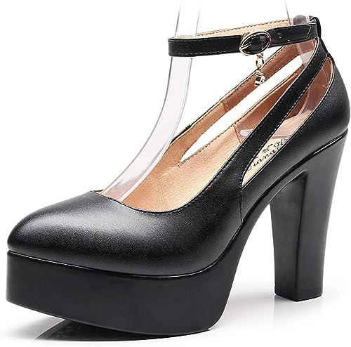 Escarpins Confortables Mary Jane Model chaussures Chaussures De Scène Chaussures De Travail Professionnelles à Bride à La Cheville à Talons Hauts Chaussures De Travail Pour Femmes