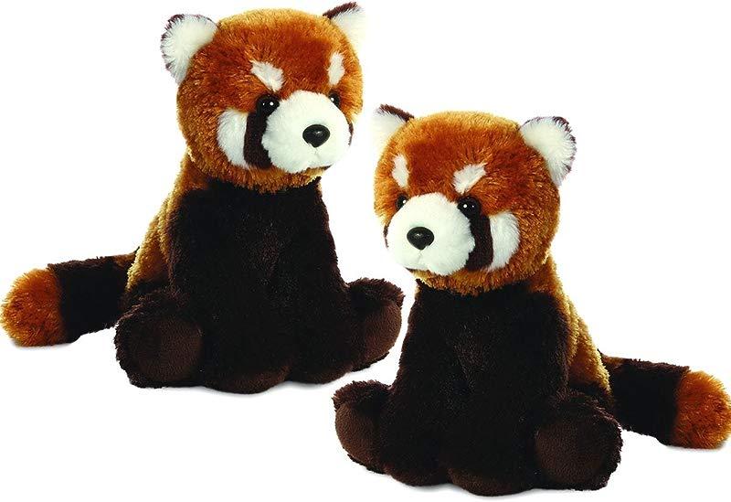 Aurora Plush Lesser Panda Flopsie 12 Twin Packs