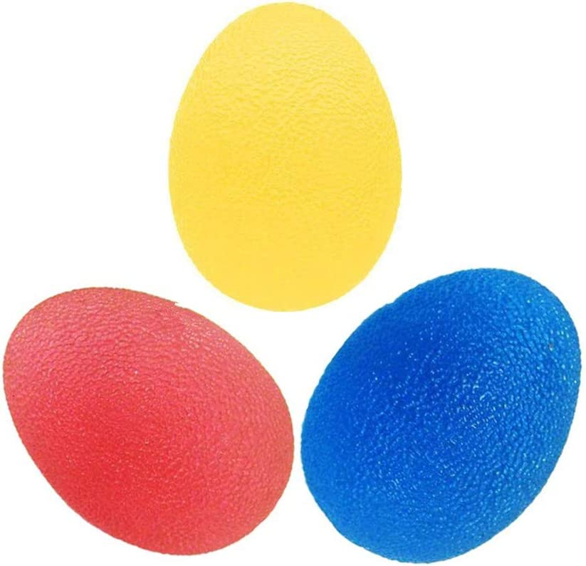 3-Pack Colorful Stress Relief Exercise Hand Balls. T Special price for Gifts a limited time