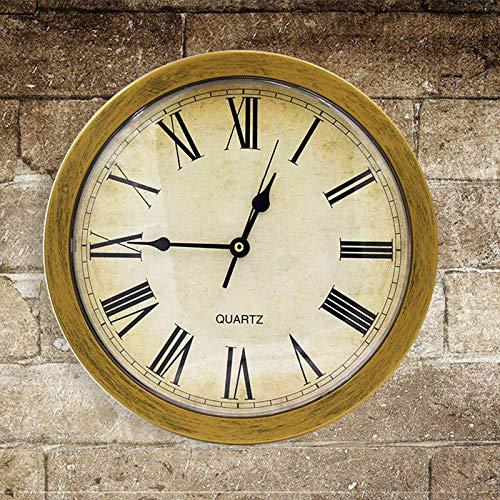 Joyería reloj de pared de la vendimia Caja fuerte escondidos bajo tierra Caja de almacenamiento de reloj de pared Caja de seguridad Caja de almacenamiento objetos de valor Habitación Decoración Adecua
