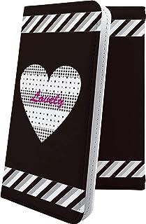 Galaxy S6 edge/SC-04G / SCV31 マルチタイプ マルチ対応ケース ケース 手帳型 ハート love kiss キス 唇 ハート柄 ギャラクシー エッジ 女の子 女子 女性 レディース SC04G GalaxyS6edg...