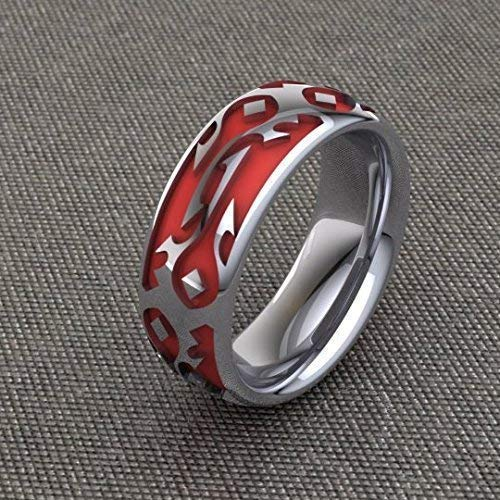 Commited to the Horde Band Horde Wedding Ring For Ladies