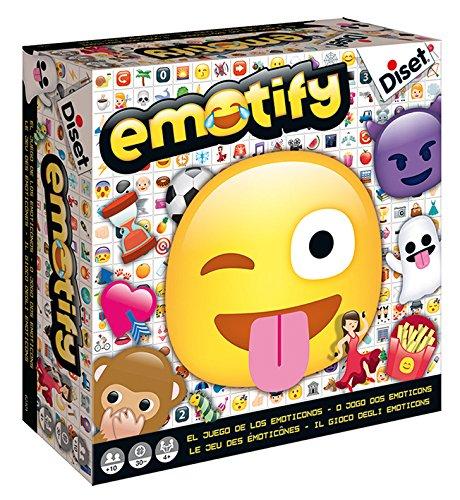 Diset - Emotify, juego de mesa, Miscelanea (62301)