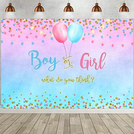 Geschlecht Offenbaren Hintergrund Rosa Und Blau Geschlecht Enthüllen Dekorationen Geschlecht Überraschung Banner Babyparty Fotografie Hintergrund 150 X 210cm Küche Haushalt