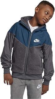 Nike Big Boy's (8-20) Sherpa Windrunner Sport Casual Hooded Jacket