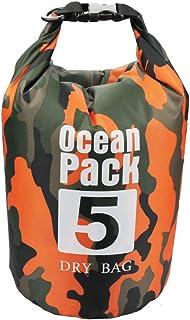 DECP Medium Camouflage Waterproof Dry Bag 5L Shoulder Roll Top Case Keep Gear Floating Dry for Kayaking ركوب القوارب والسب...