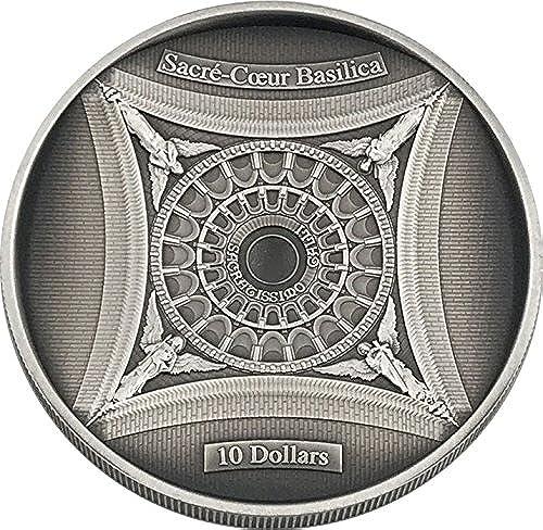 venta al por mayor barato Power Coin SACRE Coeur Basilica Sagrado Corazon 4 Layer Layer Layer Moneda plata 10  Solomon Islands 2018  ganancia cero