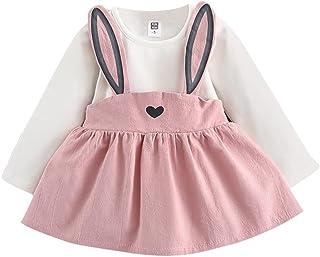 104a2c732ef6c DAY8 Robe Fille Mode Vetement Bebe Fille Hiver Robe de soirée Fille Robe  Princesse Fille Manche