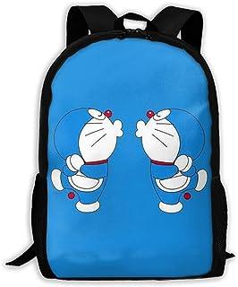 Custom Doraemon Couple Casual Backpack School Bag Travel Daypack Gift