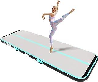 Sponsored Ad - Naice Inflatable Air Gymnastics Mat, Training Tumbling Mat,10ft/13ft/16ft Tumble Tracks Air Training Mats w...