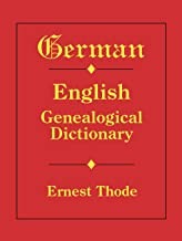 german ancestry records in english