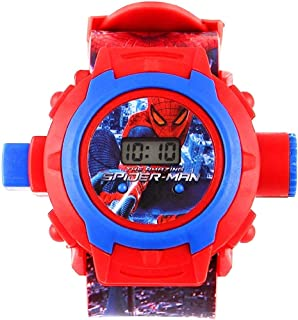 FAVELA Digital 24 Images Superhero / Spiderman / Ben10 / Doraemon Projector with 24 Automatic Projector Images To Play in ...