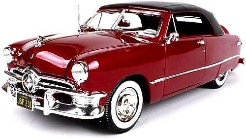 Haixin 1950-Modelle Ford Legierung Auto Modell, rote Auto Simulationsmodell, 01 18