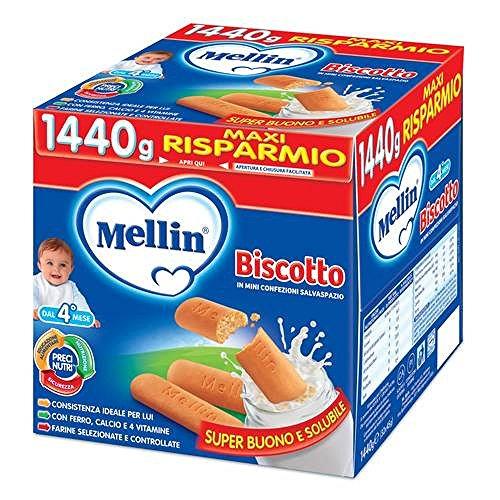 Biscotti Mellin Formato Convenienza 1440g