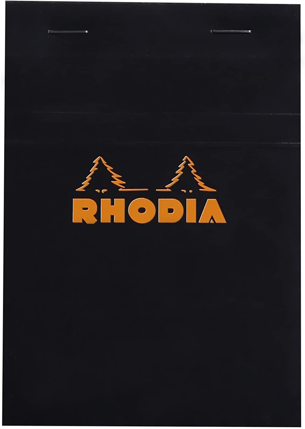 Rhodia 80 Sheet Graph Notepads, 4 by 6 , Black