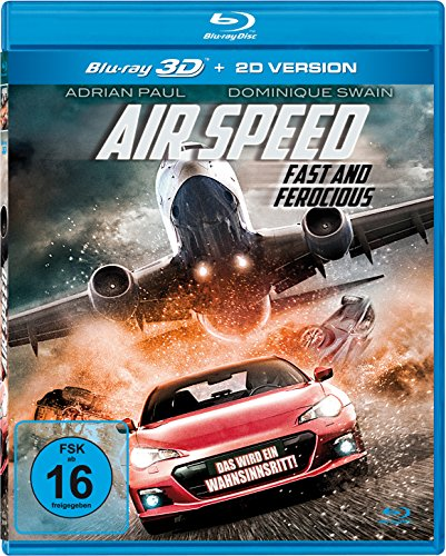 Air Speed - Fast and Ferocious 3D (3D Blu-ray)