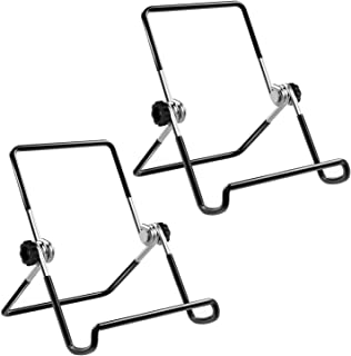 MoKo Foldable Tablet Stand, 2 Pack Adjustable Metal Holder for 9-12.9