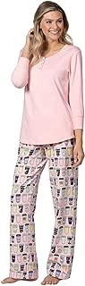 Cotton Pajamas Women Soft - Fun PJ Sets for Women, Pink