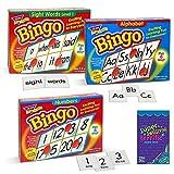 Trend Enterprises Set of Bingo Games for Kids, Learn Numbers,...