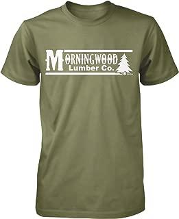 NOFO Clothing Co Morning Wood Lumber Co Men's T-Shirt