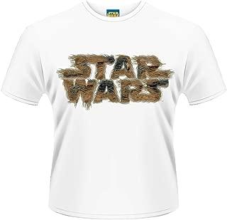 Officially Licensed Men's Chewie Hair Logo T-Shirt | Sizes S-XXL