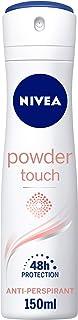 NIVEA Powder Touch Antiperspirant for Women Spray, 150 ml