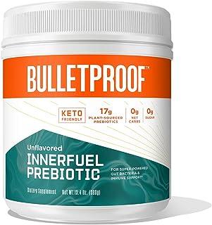 Sponsored Ad – Bulletproof InnerFuel Prebiotic - Plant-Based Dietary Fiber for Super-Powered Gut Bacteria, Digestive Healt...
