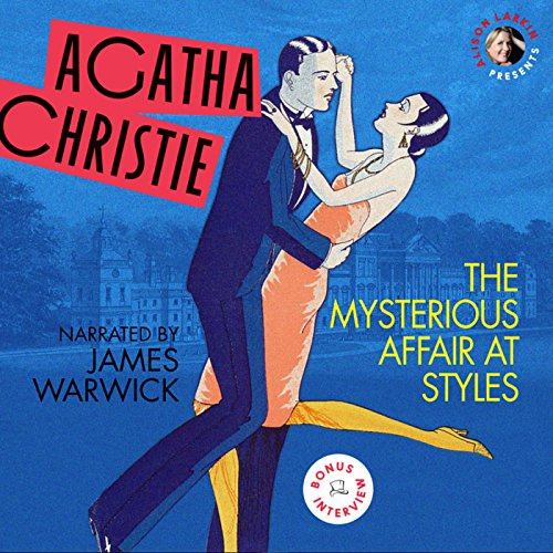 Mysterious Affair at Styles, with a Bonus Interview! audiobook cover art