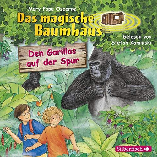 Den Gorillas auf der Spur audiobook cover art