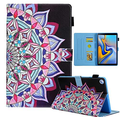 HSRWGD Funda para Galaxy Tab A7 de 10,4 pulgadas 2020, resistente a prueba de golpes, carcasa para tablet Samsung Tab A7 SM-T500 SM-T505 (con función de encendido y apagado automático) (tipo D)